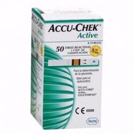 Tiras reactivas Accu-Chek Active X 50 und.