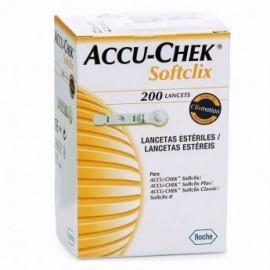 Lancetas Accu-chek Softclix X 200 und.