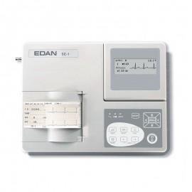 Electrocardiógrafo edan ekg se-1 de 1 canal  portatil