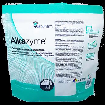 Alkazyme detergente enzimatico limpiador paquete x 12