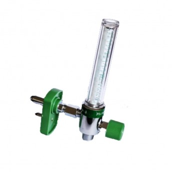 flujometro con conexión chemetron