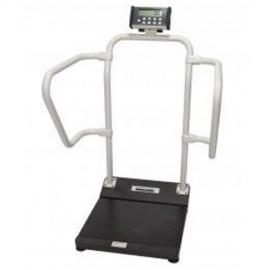 Bascula Digital Bariatrica con pasamanos e indice de masa corporal (IBM), Ref 1100 kl Health o Meter