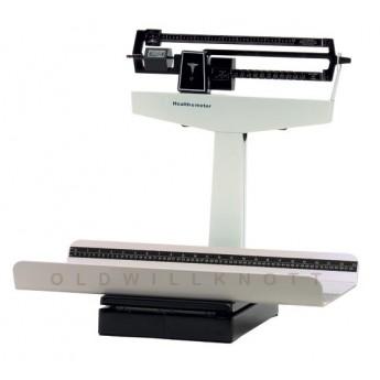 Balanza Mecánica de brazo basculante con tallimetro para bebes  Ref. 1522 kl Health o Meter