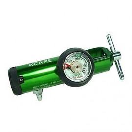 Regulador para Oxigeno Medicinal  Adulto A-Care Flujo 0-15 LPM YUGO CGA 870