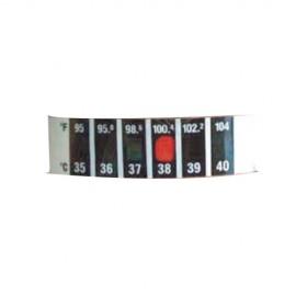 Termometro Analogo Frontal tipo cinta desechable