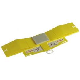 Inmovilizador de cabeza desechable  Ambu color amarillo