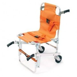 Silla escalera modelo 40 color naranja Ferno - usa