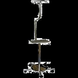 Atril porta suero en acero inoxidable para bomba de infusión