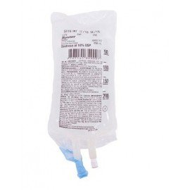 Dextrosa al 5% en agua destilada Baxter bolsa x 250 ml