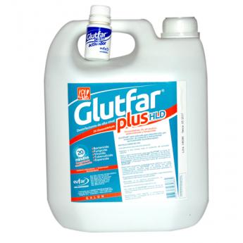Glutfar plus hld glutaraldehido 2% potencializado Galón