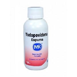Dioxodin espuma yodopovidona MK frasco de 120 ml
