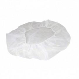 Gorro redondo desechable blanco paquete x 50 unidades