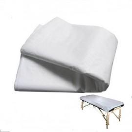 Sabana desechable paquete x 6 unidades blanco