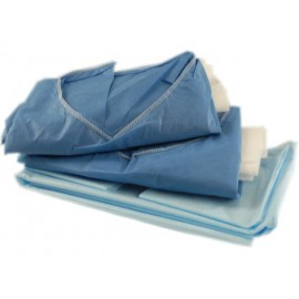 Paquete quirurgico esteril desechable