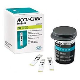Tiras reactivas Accu Chek Instant X 50 unidades
