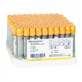 Tubo al vacio B.D Vacutainer tapón amarillo 3.5 ml ref: 367983